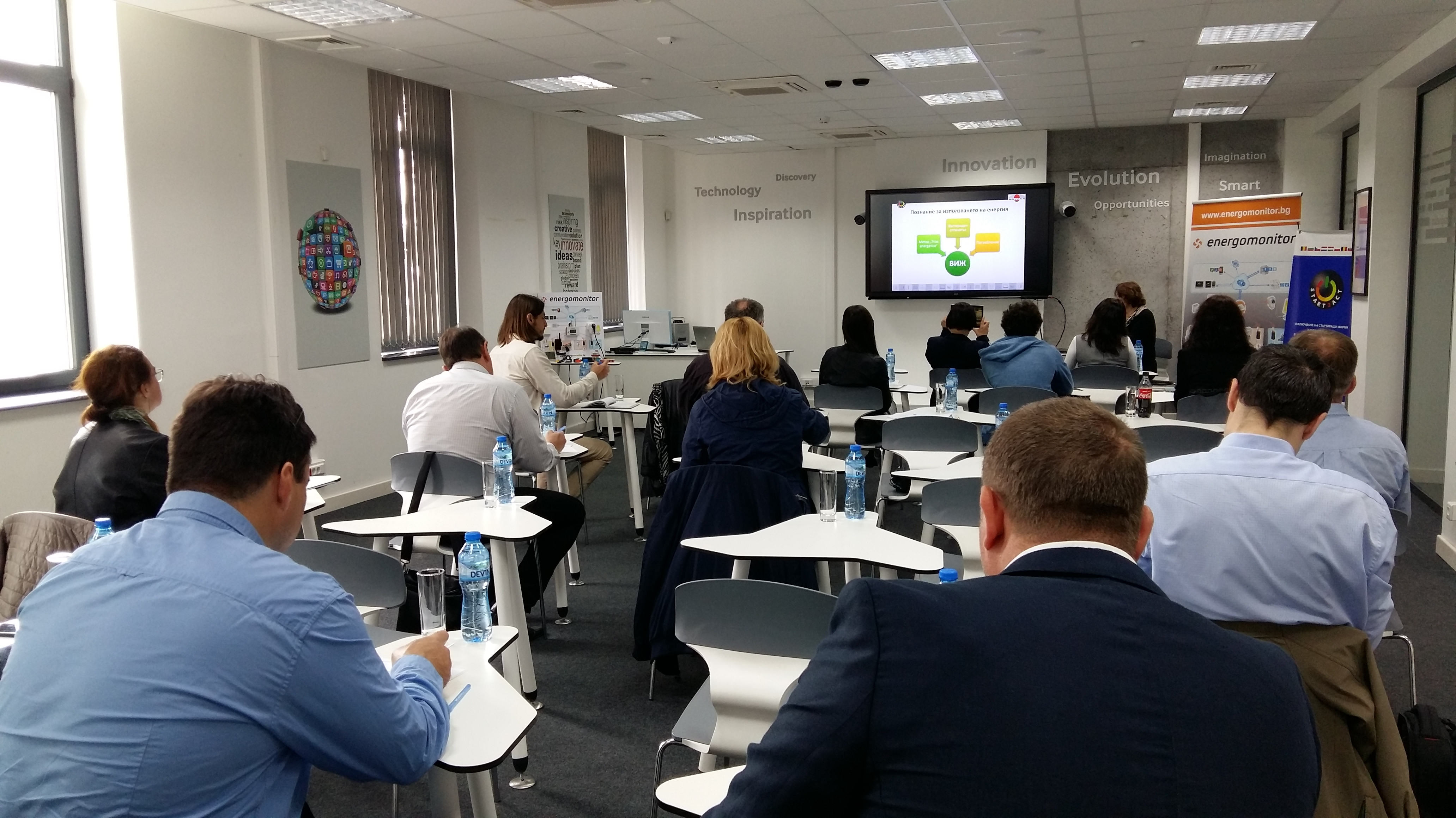 Mentoring for start-ups was held on May 9, 2019 in Sofia Tech Park